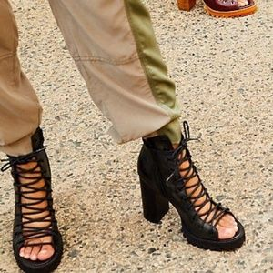 Free People X Jeffrey Campbell Palermo Heels